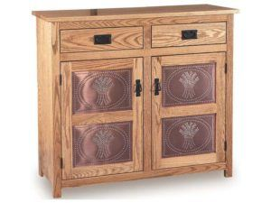 Mission Low Pie Safe with Drawer