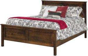 Plain Shaker Bed