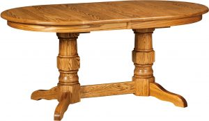 Preston Double Pedestal Table