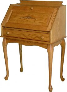 Queen Anne Secretary Desk