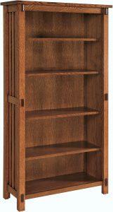Rio Mission 65 inch Bookcase