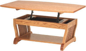 Royal Mission Lift Top Coffee Table and Phone Table