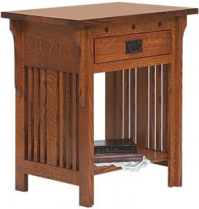 Royal Mission Open Slat Nightstand