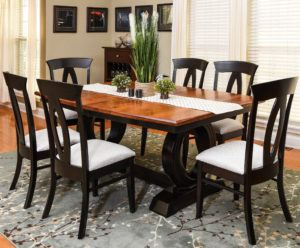 Saratoga Trestle Dining Set