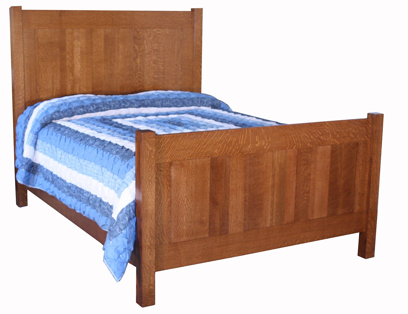 Amish crib for sale - 3 Panel Shaker Bed