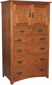 Shaker Armoire Chest