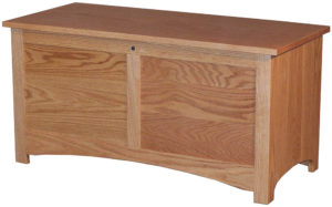 Shaker Oak Blanket Chest
