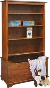 Shaker Toy Box with Bookcase
