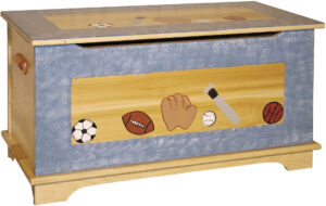 Shaker Toy Box-Painted Design