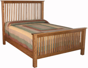Slat Mission Bed
