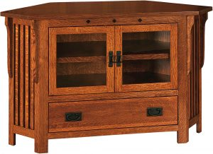 Straight Royal Mission Corner TV Cabinet