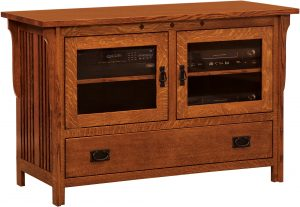 Straight Royal Mission TV Console