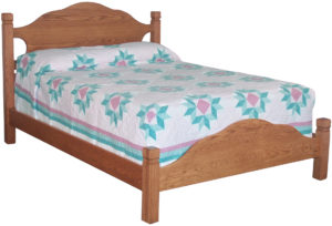 Sun Hill Solid Wood Bed