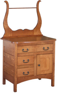Three Drawer Granny Mission Commode
