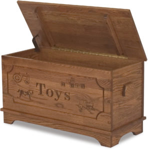 Wood Toy Box