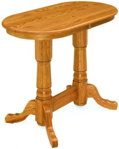 Traditional Double Pedestal Pub Table