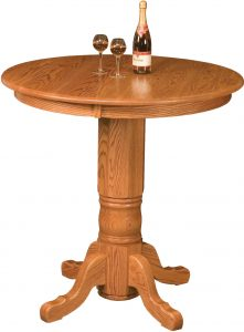 Traditional Amish Pub Table