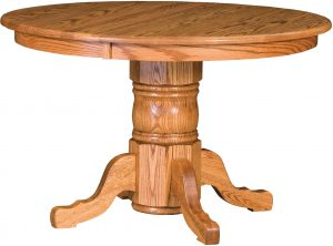 Traditional Single Pedestal Table