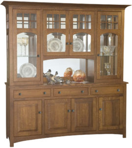 Tribecca Eight Door Hutch