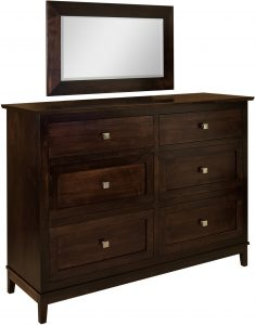 Venice Six Drawer Dresser
