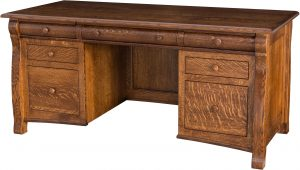 Castlebury Finished Back Desk
