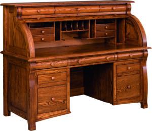 Castlebury Rolltop Desk