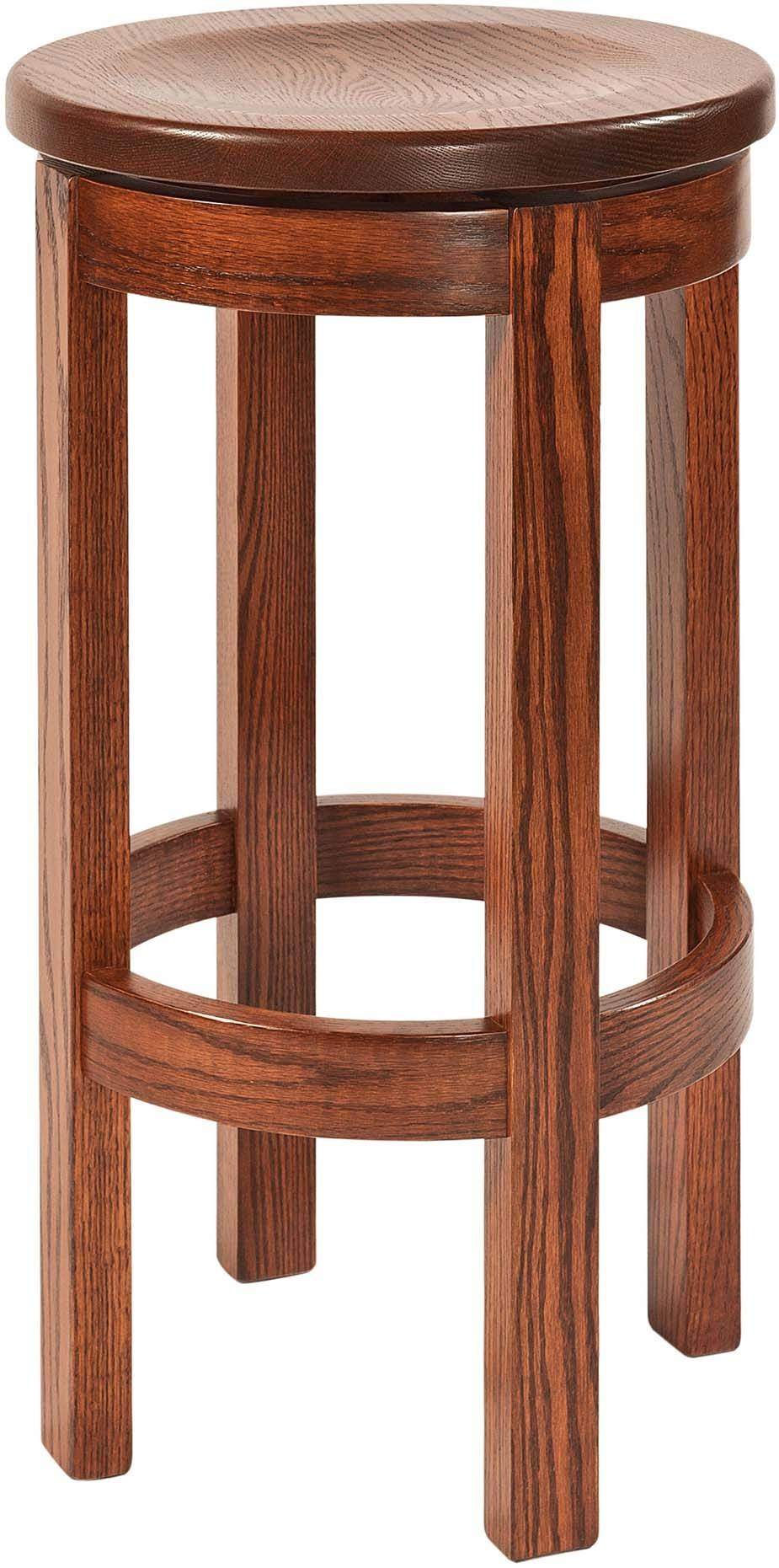 Barrel Barstool Without Back