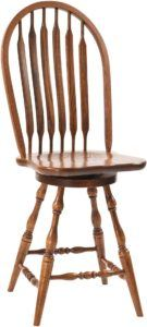 Bent Paddle Deep Scoop Barstool