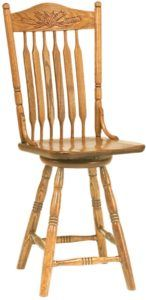 Autumn Wheat Barstool