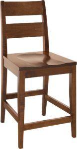 Carson Wooden Bar Chair