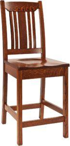 Grant Wooden Bar Chair