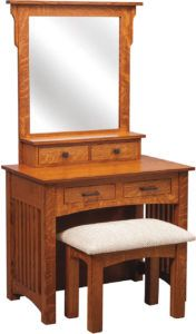 36 inch Mission Dressing Table