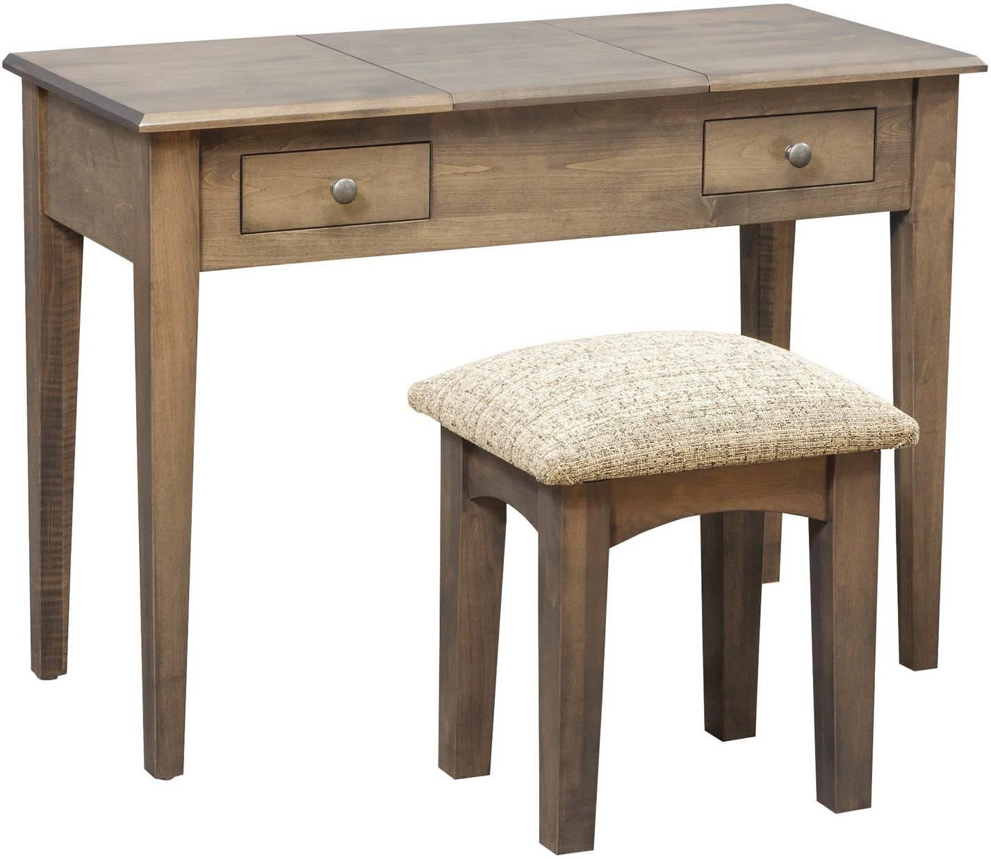 42 inch Shaker Vanity Dressing Table