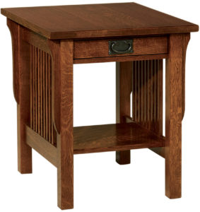 Landmark Wide End Table