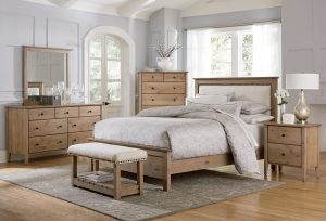Medina Knotty Alder Bedroom Collection