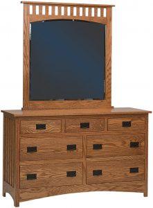 Schwartz Mission Seven Drawer Dresser
