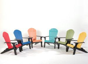 Poly Adirondack Folding Chairs