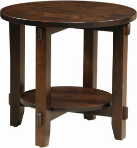 Bungalow Round End Table