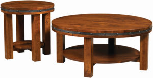 Pasadena Round Occasional Table Set