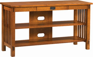 Rio Mission Open TV Console Table