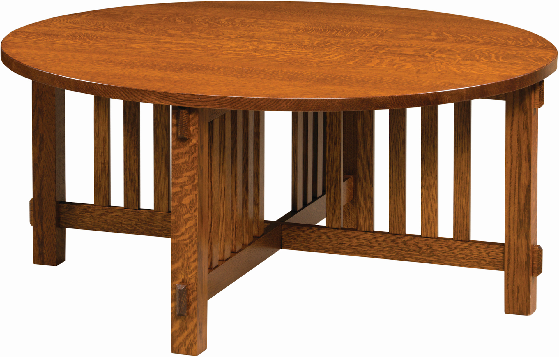 Mission Round Table.Rio Mission Round Coffee Table Amish Rio Mission Round Coffee Table