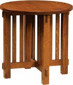 Rio Mission Round End Table