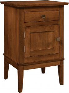 Venice One Drawer, One Door Nightstand