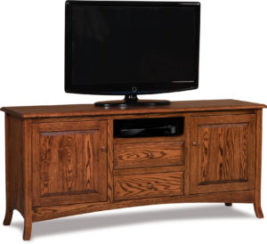 Carlisle Two Drawer Media Stand