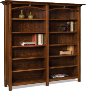 Artesa Double Bookcase