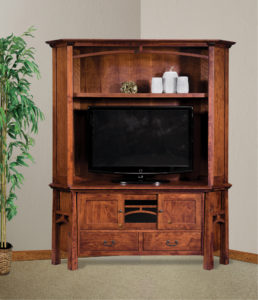 Artesa Two-Piece Corner Entertainment Center