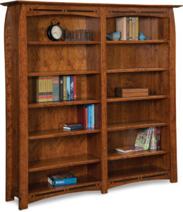 Boulder Creek Double Bookcase