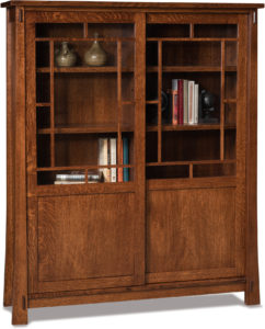 Modesto Sliding Door Bookcase