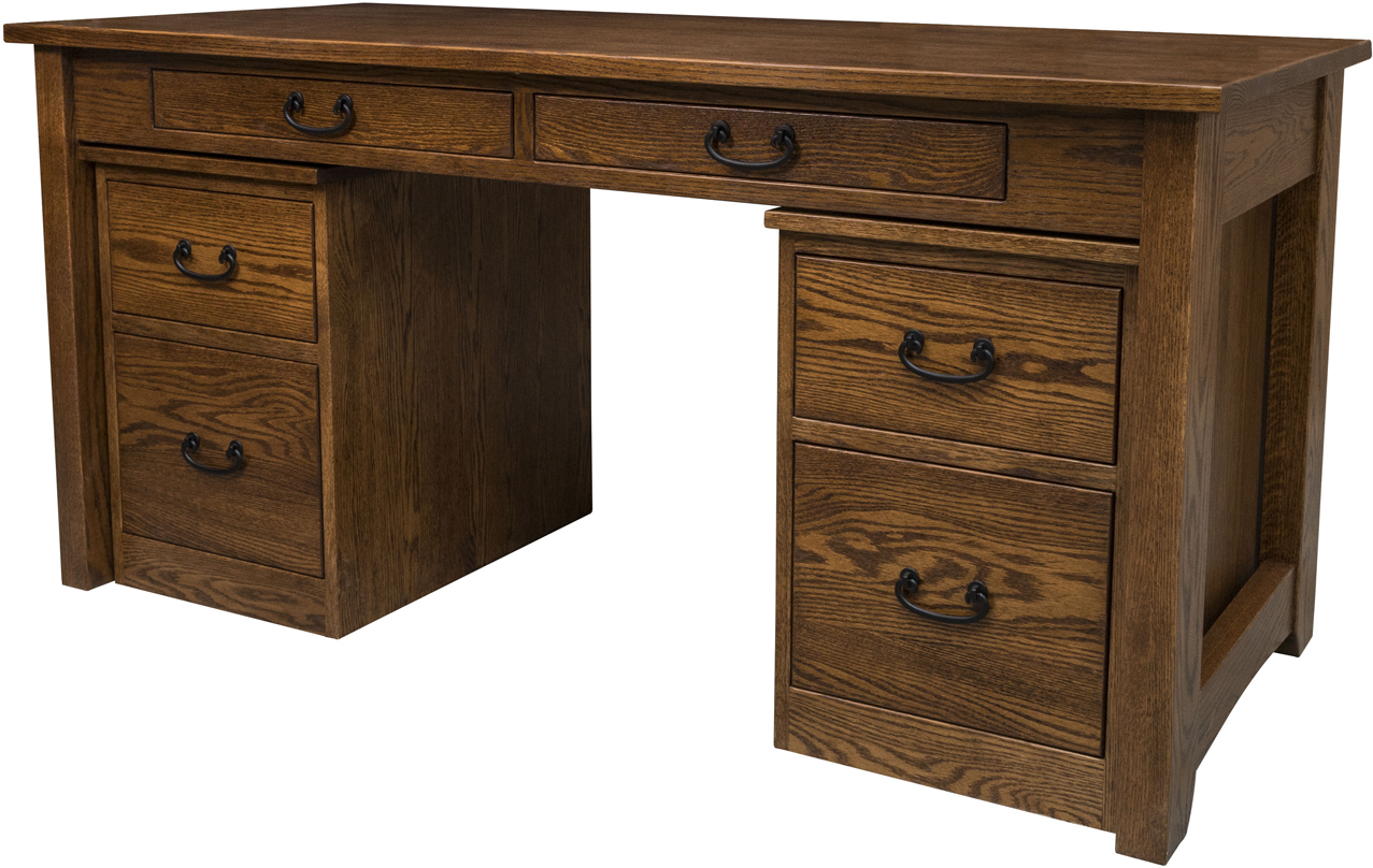 Noble Mission Library Desk Amish Noble Mission Library Desk