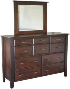 Ashton Ten Drawer Mule Dresser